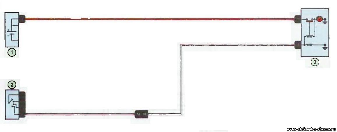 s3 - Схема центрального замка ларгус
