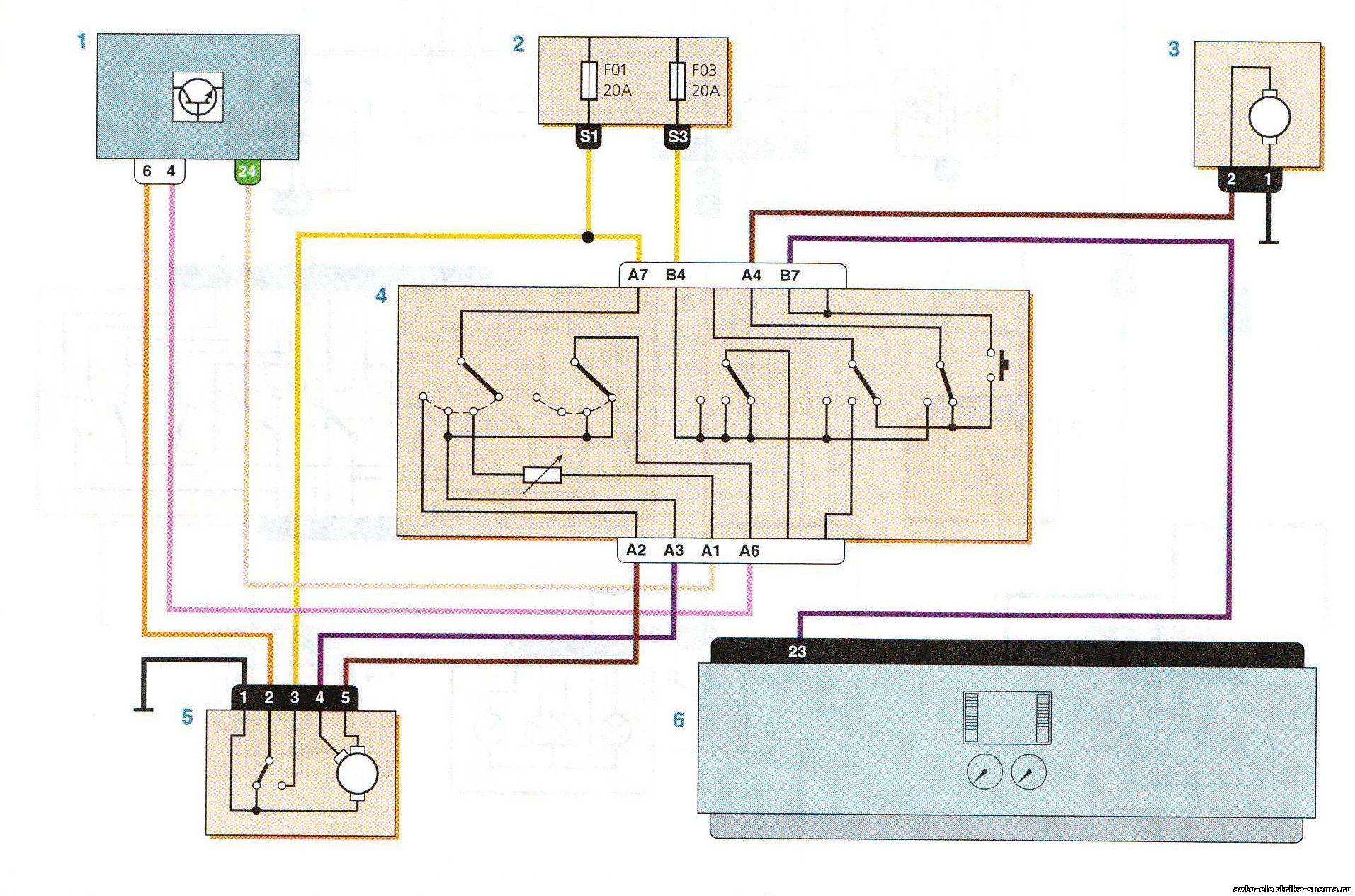 Схема рено логан стеклоочиститель схема