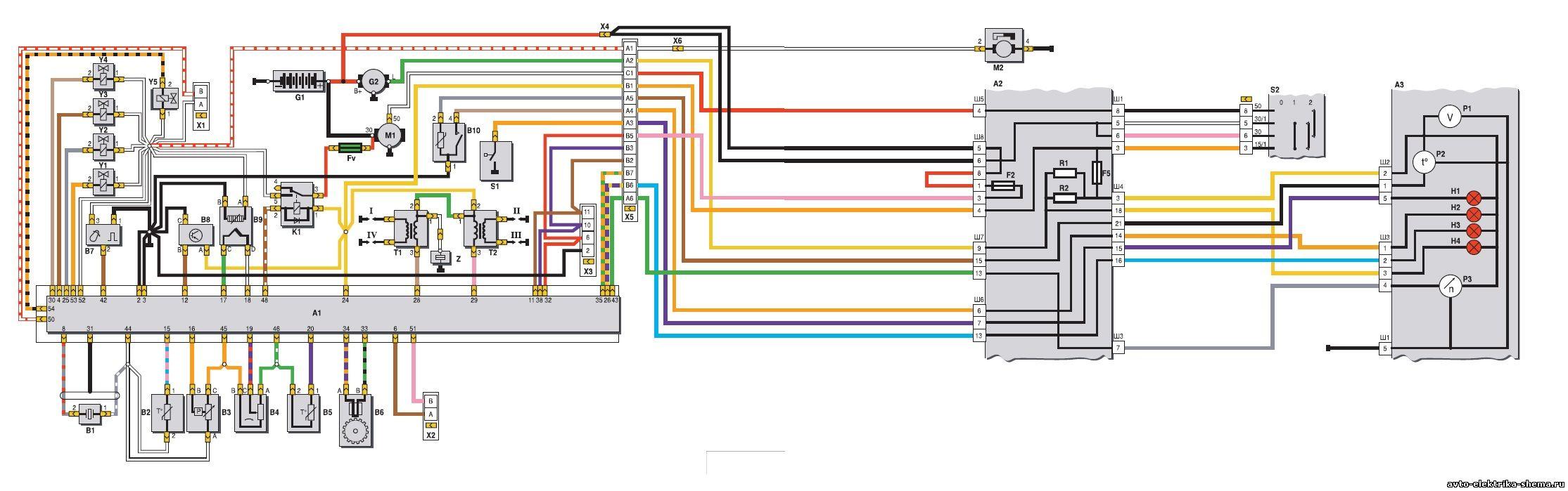 Схема проводки святогора с f3r