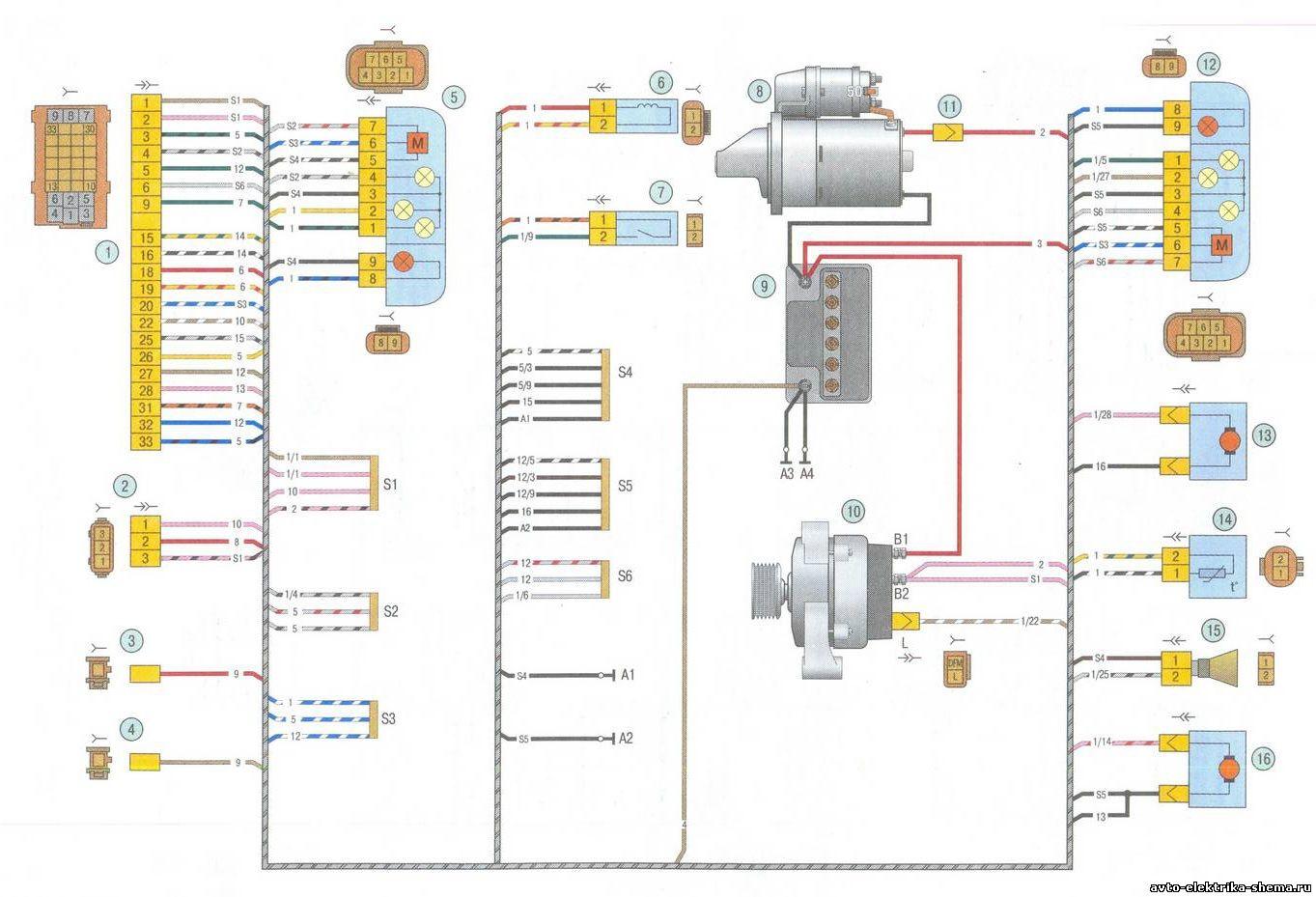 схема отопления ладо калина